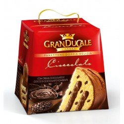 Panettone Double Delight Chocolate Cream With Chocolate Chips 750g