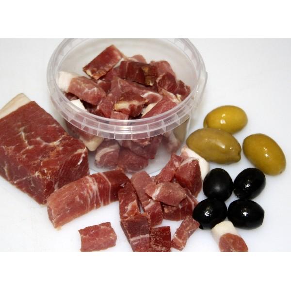 Diced Parma Ham Reserve 100g