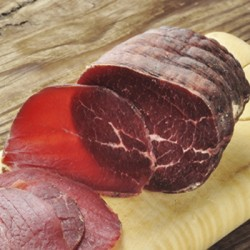 "Bresaola Punta D""Anca sliced 100g"