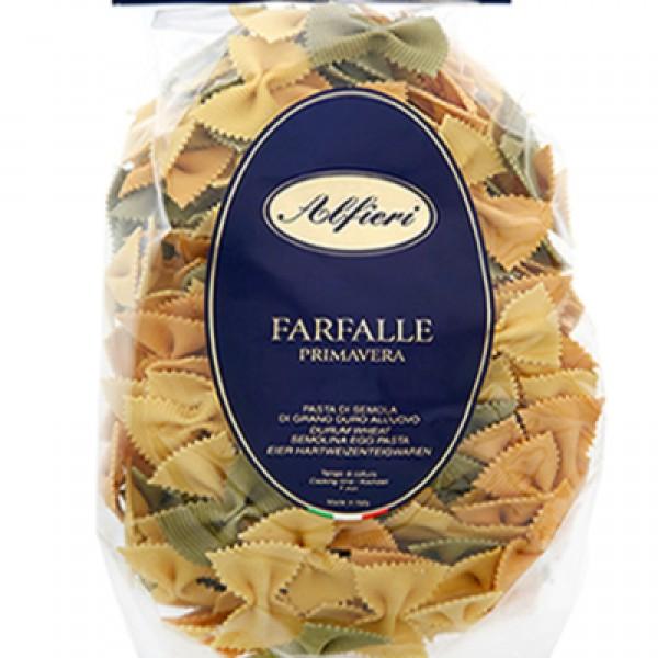 Alfieri Egg Farfalle 3 Colour 500g