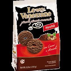 Gluten Free Biscuits Chocolate and Hazelnut 250g