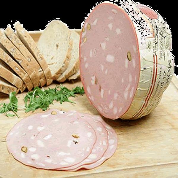 Mortadella with Pistachio sliced 100g