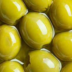 Green Pitted Olives 2.2 kg tin