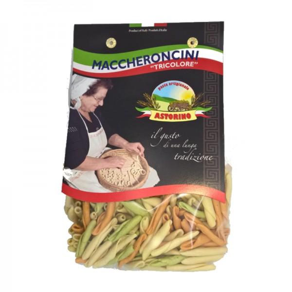 Astorino Tri-Colour Maccheroncini 500g