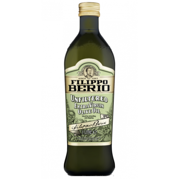 Filippo Berio Unfiltered Extra Virgin Olive Oil 1lt