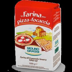 Molino Grassi Farina Per Pizza e Focaccia 1.0kg
