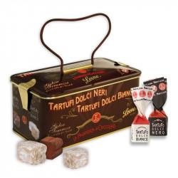 Leone Black And White Truffle Gift Tin 150g