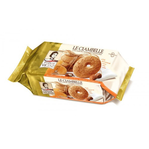Vicenzi Le Ciambelle Cookies All Butter 200g-Buy One Get One Free