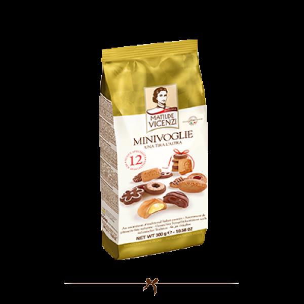 Vicenzi Minivoglie Assorted Biscuits 300g Buy One Get One Free
