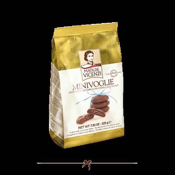 Vicenzi Minivoglie Chocolate Biscuits 225g Buy One Get One Free