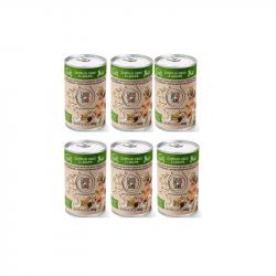 Zuppa Di Orzo e Legumi Organic 6x400g tins