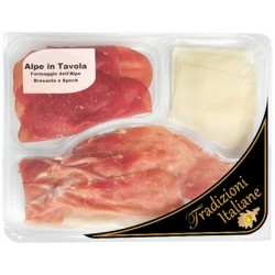 Mixed Platter of Bresaola,Speck and Alpine Cheese 100g