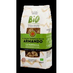 "Armando Whole Wheat Organic ""La Farfalla"" 500g"