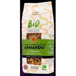 """Armando Whole Wheat Organic """"Il Fusillo"""" 500g"""
