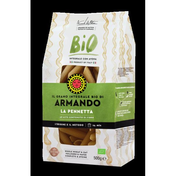 """Armando Whole Wheat Organic """"La Pennetta"""" 500g"""