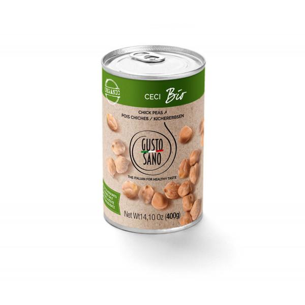 Ceci Bio (Organic Chick Peas) 400g tin