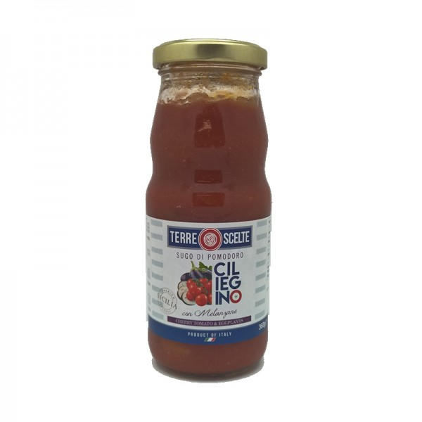 Cherry Tomato Pasta Sauce With Aubergines 360g Buy One Get One Free