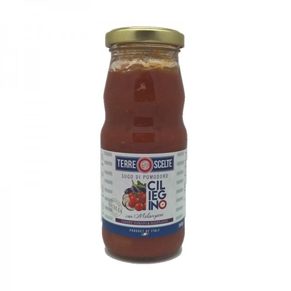 Cherry Tomato Pasta Sauce With Aubergines 360g