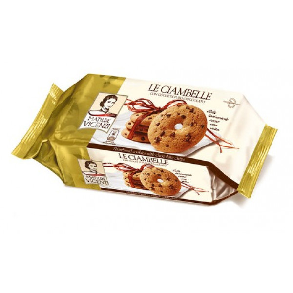 Vicenzi Le Ciambelle Cookies Chocolate Chip 200g-Buy One Get One Free