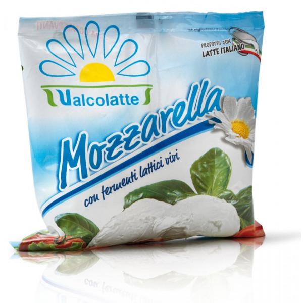 Valcolatte Cows Milk Mozzarella 125g