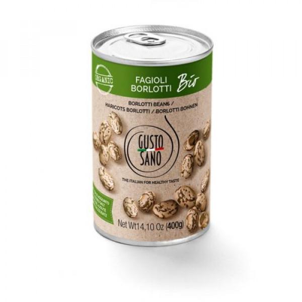 Fagioli Borlotti ( Borlotti Beans ) Organic 400g
