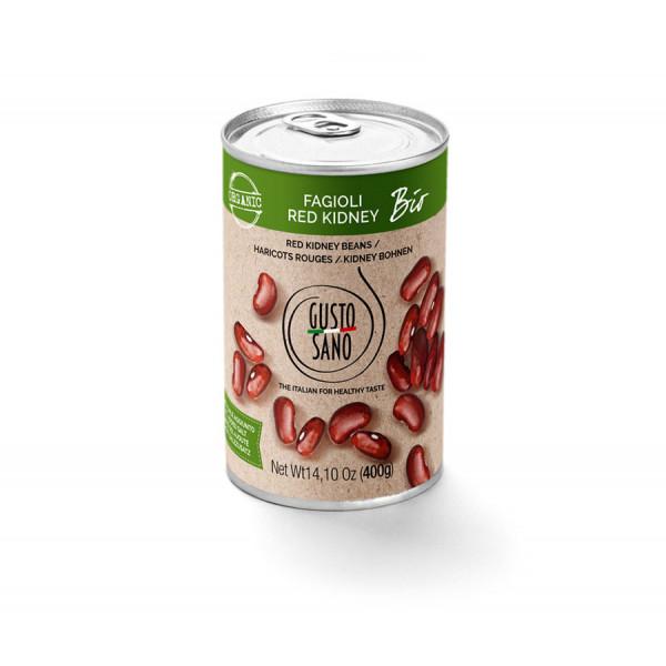 Fagioli Organic Red Kidney Beans 400g
