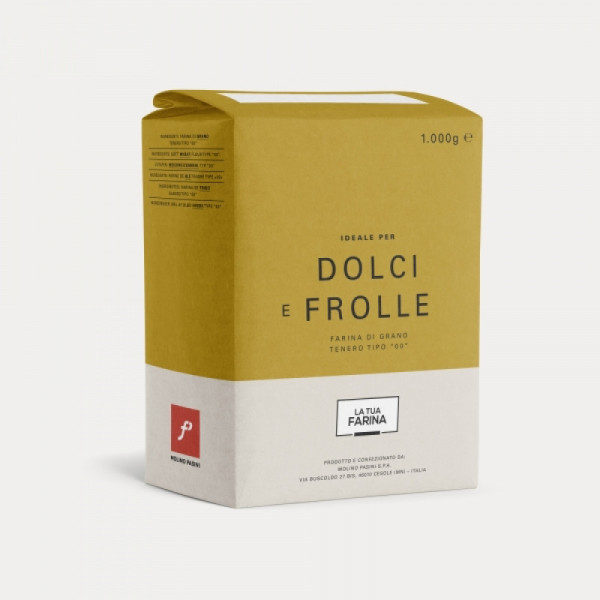 Molino Pasini Dolce e Frolle Flour 10 x 1.0kg