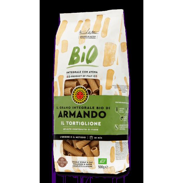 """Armando Whole Wheat Organic """"Il Tortiglione"""" 500g"""