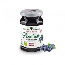 Mirtilli Neri Di Bosco ( Wild Blueberry Jam ) 250g