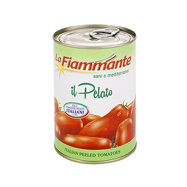 Peeled Plum Tomatoes 240g Tin