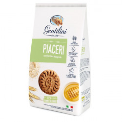 Biscotti Piaceri with whole wheat flour 330g