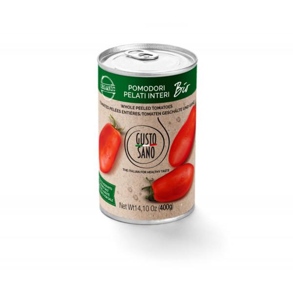 Pomodori Pelati Interi (Peeled Plum Tomatoes) Organic 6x400g