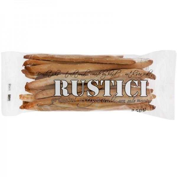 Rustic Grissini with Sea Salt 250g