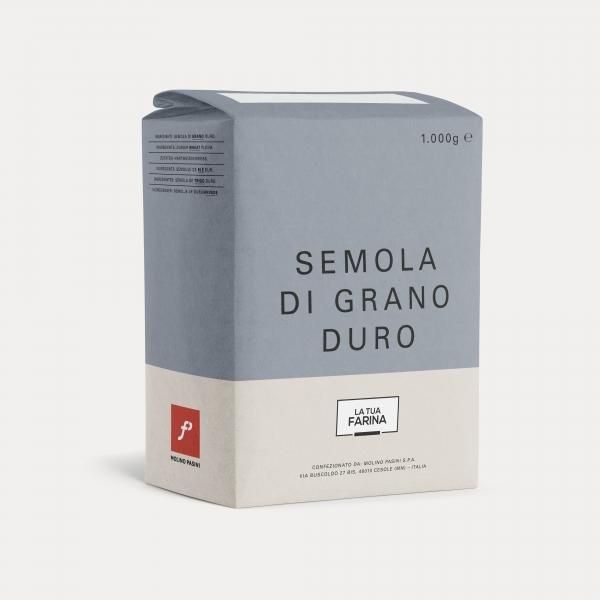 Molino Pasini Semola Di Grano Duro 1.0kg Buy One Get One Free