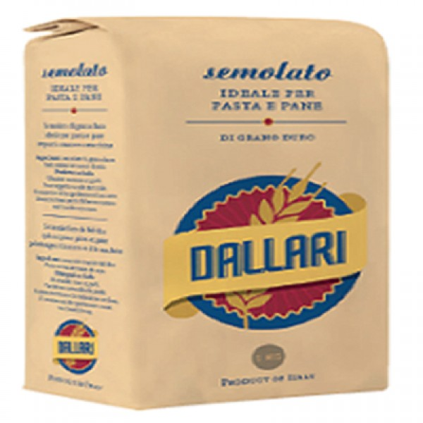 Semolina Durum Wheat Flour 1.0kg packet