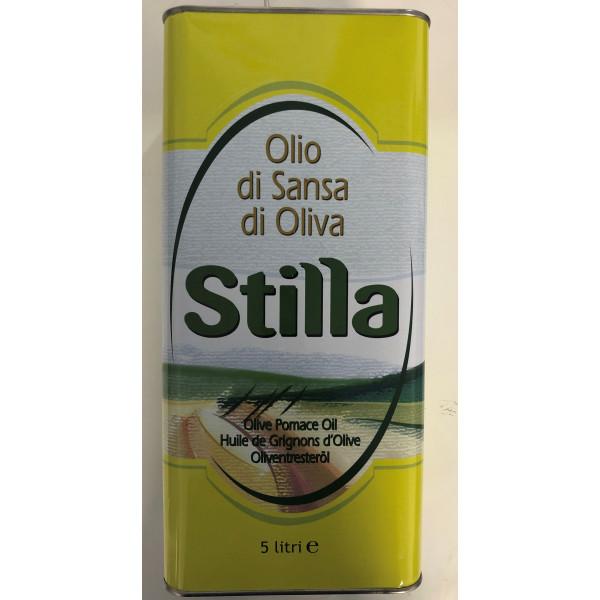 Pomace Olive Oil 5 Litre Tin