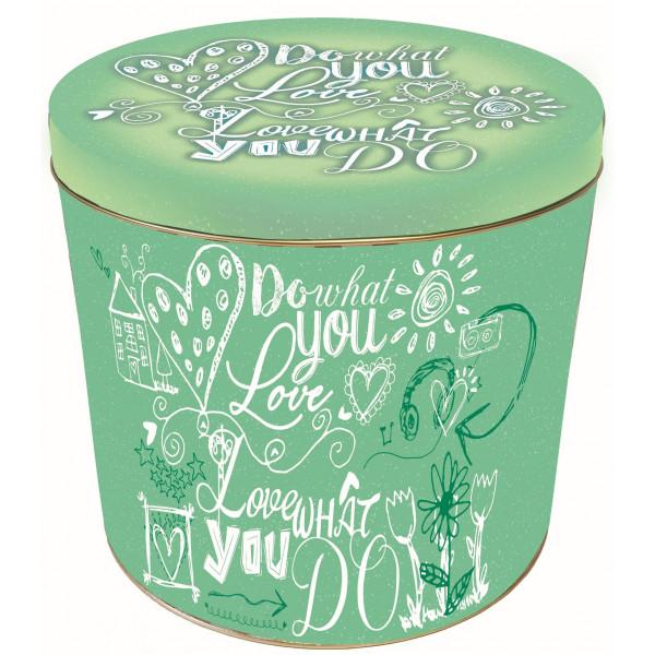 "Pandoro Gift Tin ""Do What You Love"" Design 750g"
