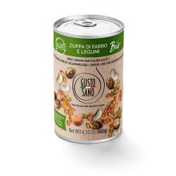 Zuppa Di Farro e Legumi Organic 400g