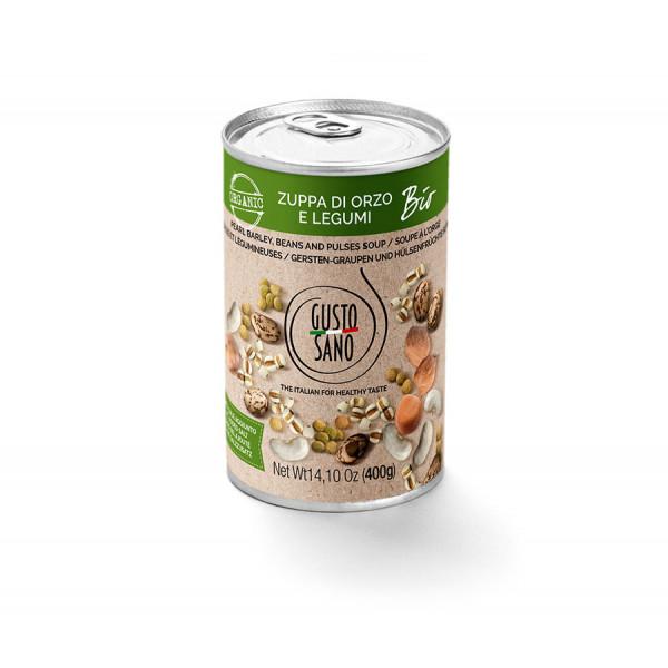 Zuppa Di Orzo e Legumi Organic 400g