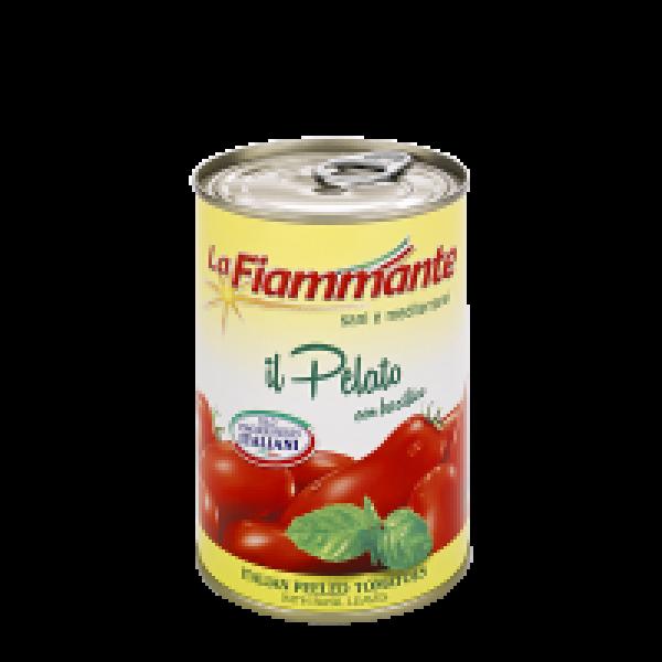 Peeled Plum Tomatoes with Basil 400g